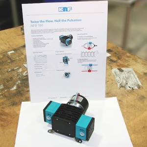 NFB 100 liquid diaphragm pump with datasheet
