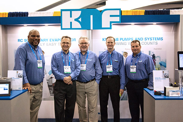 The KNF team, after a successful ACS Fall.